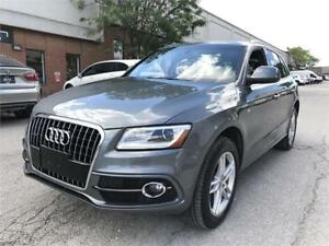 2015 Audi Q5 3.0L TDI, S-LINE, NAV, PANO ROOF, NO ACCIDENT