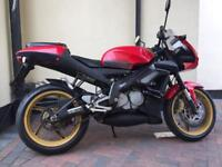 Aprilia Rs tuono 125 2004 street fighter mot serviced