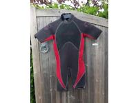 C- SKINS summer shortie wetsuit