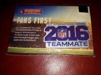NFL International Series Pin Badge. Original packaging. Good condition.