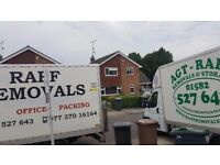 Raff Man and Van or Raff house removals and storage, removals company in Wellingborough