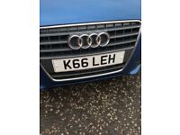 Private Number Plate - K66 LEH (Kayleigh)
