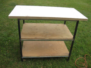 Very Sturdy Workshop Table