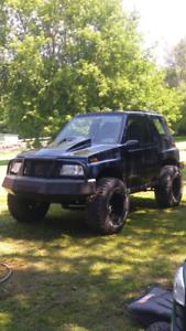 1992 turbo Chevrolet Tracker