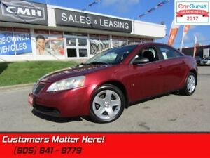 2009 Pontiac G6 SE  SUNROOF, POWER GROUP!
