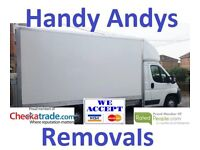 Handy Andys Removals Service , Man and Van Delivery & Removal UK Europe home flat office Portsmouth