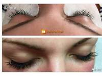 Full set of individual lash extendions