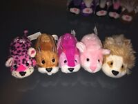 Zhu Zhu Pets Hamsters x 13 and Puppies x 4 Massive Lot - will sell separate if required