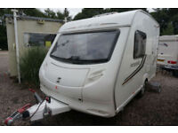 2011 SPRITE FINESSE 2 BERTH CARAVAN - LIGHTWEIGHT - SUPERB