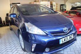 Toyota Prius+ T spirit Blue 7 Seater Automatic 2013