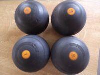Set of 4 Lawn Bowls