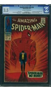 Amazing Spider-man #50 CGC 3.5   FIRST KINGPIN! Iconic Cover!