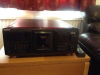 Sony Mega Storage 400 CD Player for repair or parts