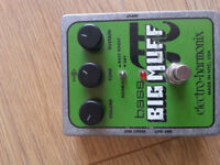 Big Muff Bass Pedal Working Condition