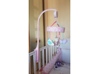 Mothercare bed Musical mobile