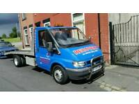 2004 ford transit recovery truck 2.4 Tdci lwb ready to go 1 year mot bargain may px must see!