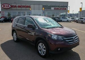 2014 Honda CR-V EX Backup camera, Low Km's, Sunroof!