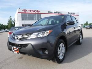 2015 Toyota RAV4 LE AWD TOYOTA CERTIFIED PRE OWNED