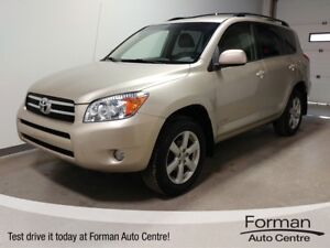 2008 Toyota RAV4 Limited - Alloy Wheels | 4WD | Great on gas!