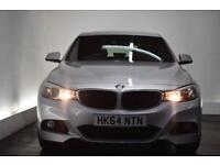 BMW 3 SERIES GRAN TURISMO 2.0 320I XDRIVE M SPORT GRAN TURISMO 5d 181 BHP (silver) 2015