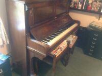 BACHMANN UPRIGHT PIANO FREE........!