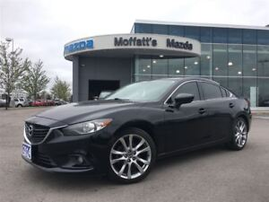 2014 Mazda MAZDA6 GT LEATHER, SUNROOF, BOSE, BACKUP CAMERA