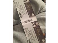 CELINE DION 2 TICKETS FOR SATURDAY 29TH JULY