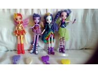 Equestria Dolls Set of 4