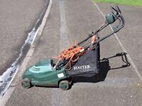 Hayter Envoy electric rotary push mower. 9 years old. Good working order.