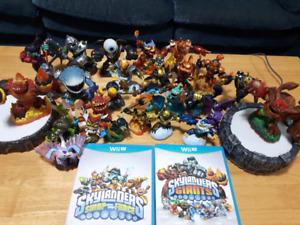 Skylander lot for WiiU