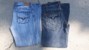 True religion jeans. Guess? Jeans