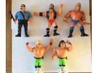 Wwf / Wwe Hasbro Wrestling Figures Lot 6