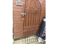 Metal garden gate 6ft