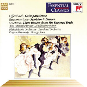 Ballet Music by Offenbach,Rachmanimov and Smetana CD-Superb +