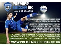 ROTHERHAM 6 aside Football League (Starts Tuesday 5th September @ Thomas Rotherham College 3G)
