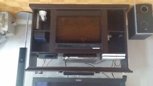 Meubles tele avec foyer integrer