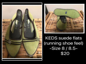 WARDROBE SALE! -SHOES- FLATS CONTINUED-