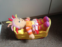 In the Night Garden Upsy Daisy in her bed
