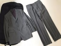 Paul Smith Grey Single Breasted Suit Chest 40 Waist 34 Length 32