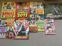 Horrible Histories and Horrible Science annuals
