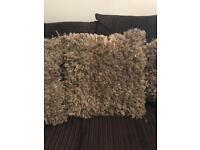 Good / mink cushions 4 off from next