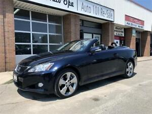 2010 Lexus IS 350C Navigation ONLY 75000Km