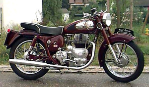 1957 ROYAL ENFIELD SUPER METEOR PROJECT SALE PENDING TO MIKE!