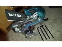 Makita cordless brushless mitre saw chop saw