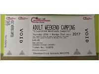 Silverstone classic woodlands camping pass £32 delivered