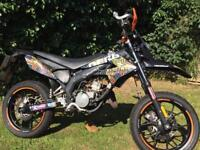 50cc Derbi Senda supermoto 2012