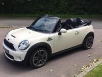 MINI Cooper S Automatic Convertible 59 plate 22k miles only