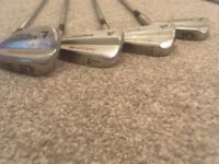 Custom made Lady Supreme Half Golf Set - 3, 5, 7, 9 irons - good condition