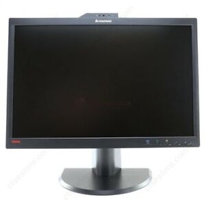 "Lenovo 22"" Widescreen LCD Monitor with Built-in Webcam"
