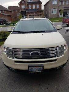 PRICE DROP !!! Rare Pearl White with tan interior Ford Edge SEL